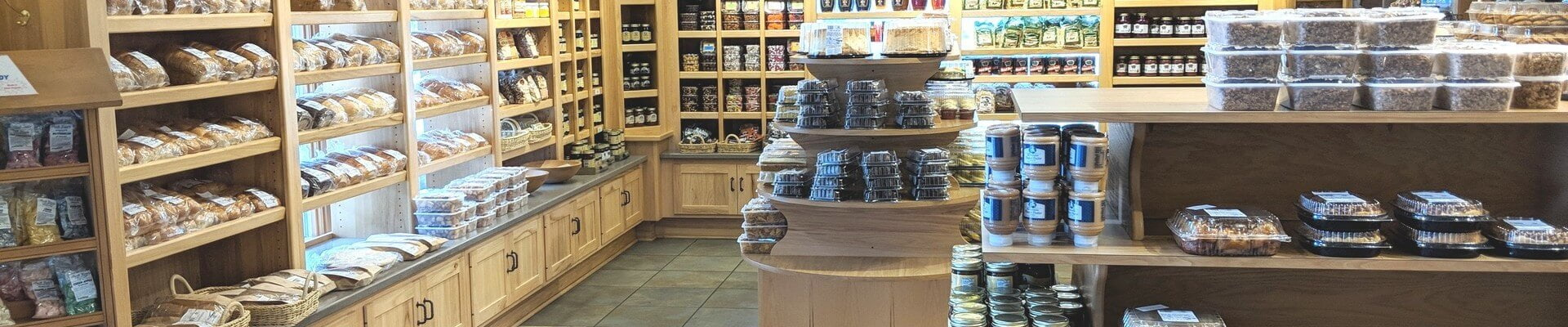 Commercial Cabinetry Bakery